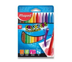 MAPED COLOR'PEPS Plastové pastely 12 farieb