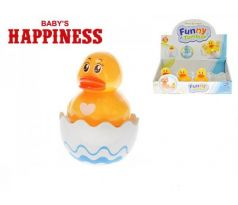Kačka Roly Poly plast 8cm Baby´s Happiness