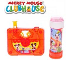 Mickey Mouse a Minnie bublifuk kamera 10x8 cm 60ml