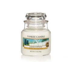 Sviečka Yankee Candle - Clean Cotton, malá