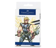 Set FABER-CASTELL COMIC 3D 11 ks Mix