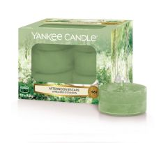 Čajová sviečka Yankee Candle - Afternoon Escape, sada 12 ks